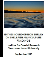 Baynes Sound Opinion Survey Findings