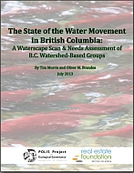 State of the Water Movement in BC
